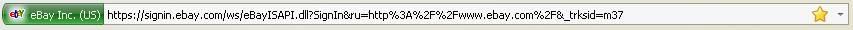 Cтрока в браузере - подлинный, настоящий еВау