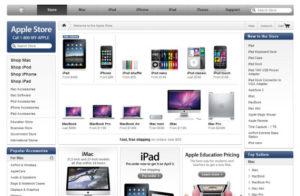 Площадка Store.apple.com