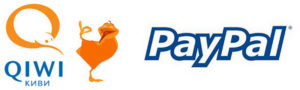 Qiwi + PayPal