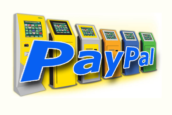 Пополнение PayPal через терминал