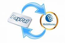 Способы перевода денег с PayPal на WebMoney и обратно