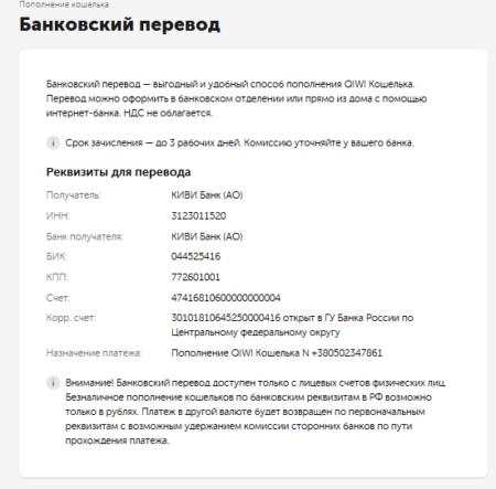 пополнить QIWI кошелек с карты Сбербанка онлайн